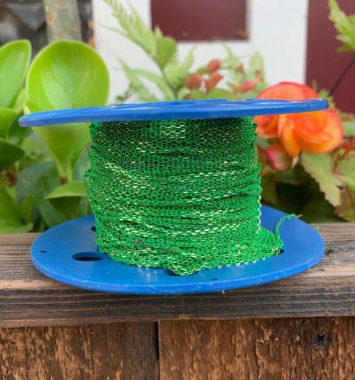 spool of enamel green chain