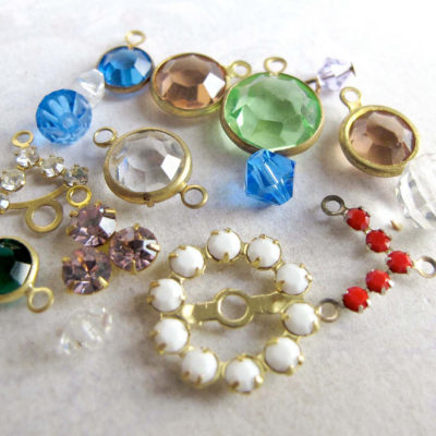 Swarovski assortment crystal charms mixture