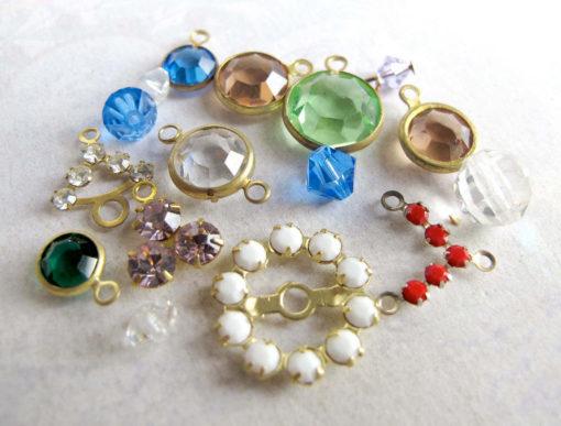 Swarovski assortment crystal charms mixture