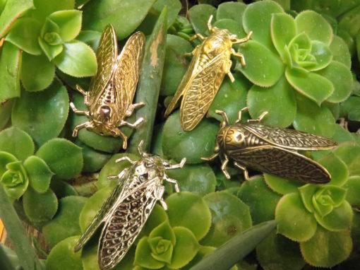 cicada pendants