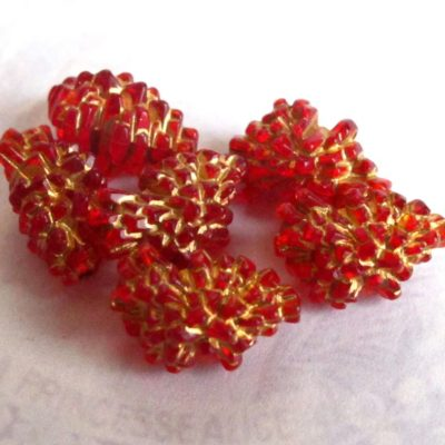 20 Pcs Vintage Round Beads German Lucite Beads Vintage Plastic Beads 12mm 12-27