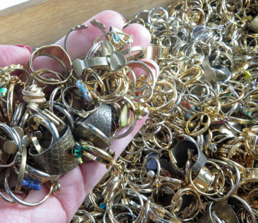 mixed fashion rings
