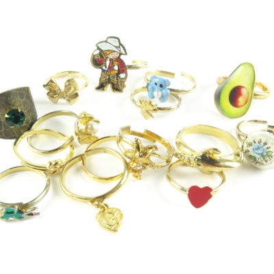 mixed fashion rings