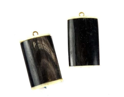 Vintage Genuine Horn and Bone Pendants