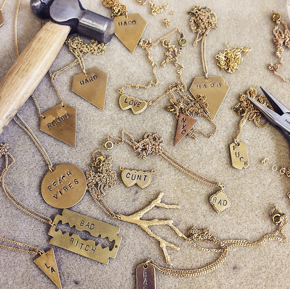 Stamping and Engraving Jewelry Workshop x MUNI