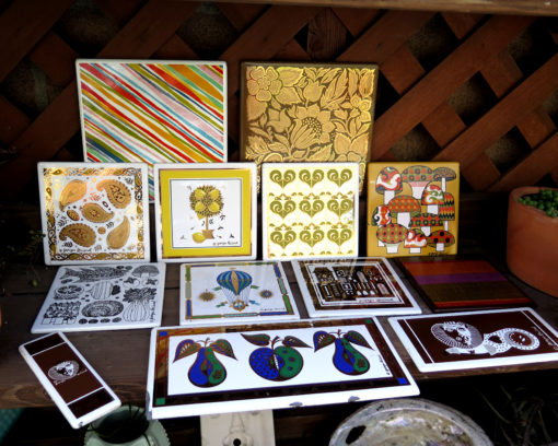 vintage Georges briard tile lots of designs