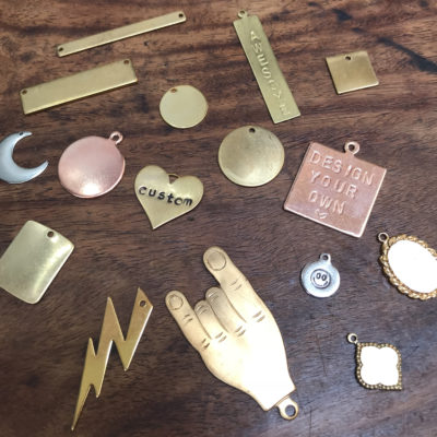 Blank Charms - Pick Your Own Engraving!