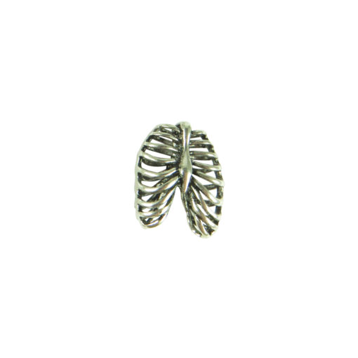 rib cage pendant for custom jewelry