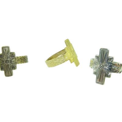 southwestern adjustable cross ring