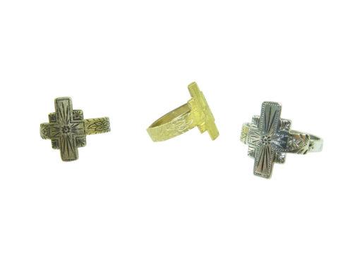 southwestern adjustable cross ring