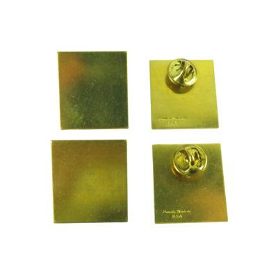 j568 rectangle blank engraving pin