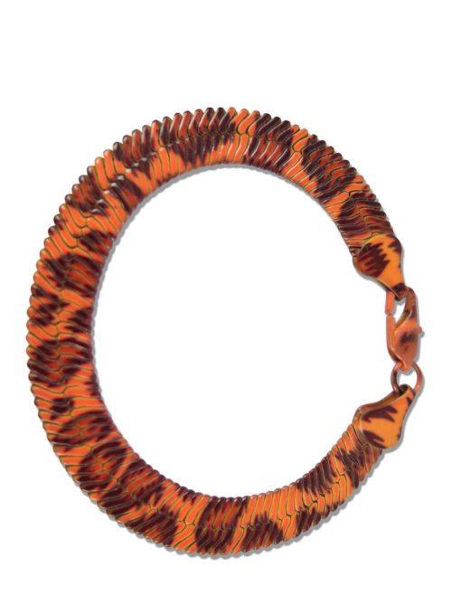 serpentine leopard chain