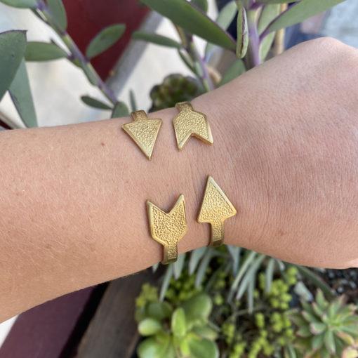 arrow cuff bracelet