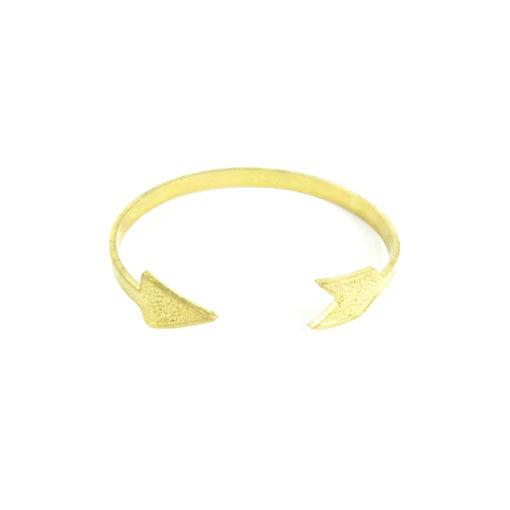 brass arrow cuff