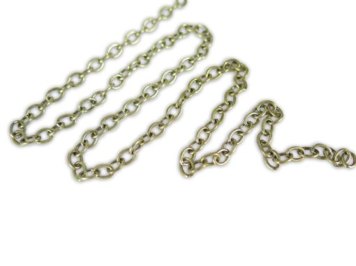 oval cable chain
