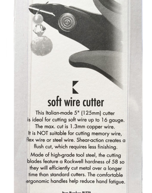 soft wire cutter- back