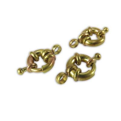 brass bolt spring clasp
