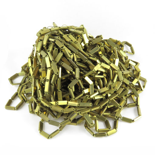 thick brass bar chain