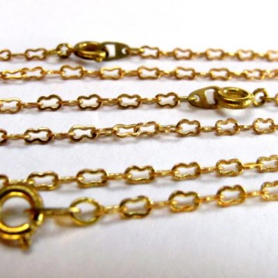 peanut chain necklaces