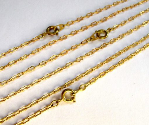 peanut chain necklaces