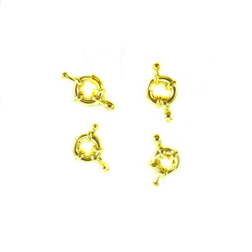 12mm brass bolt spring clasps