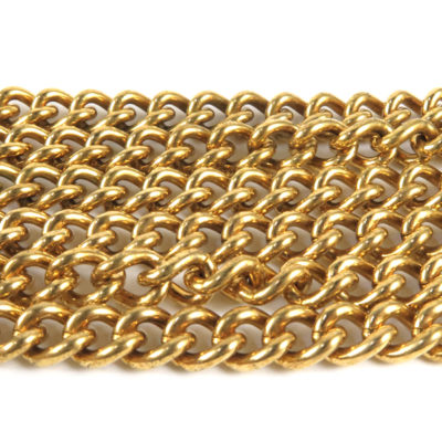 thick brass curb chain