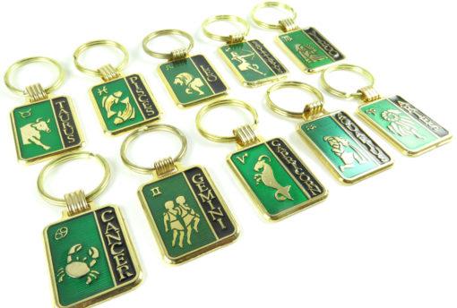 astrological keychain