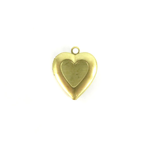 heart locket with heart outline