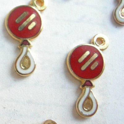 enamel lollipop charms