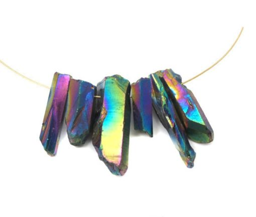 oil slick quartz