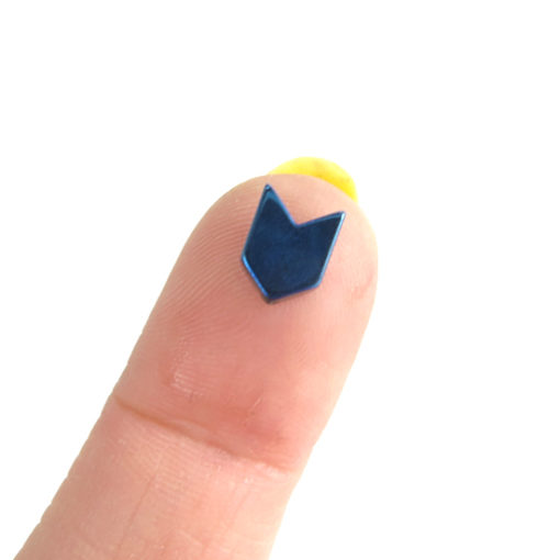 hematite chevron bead