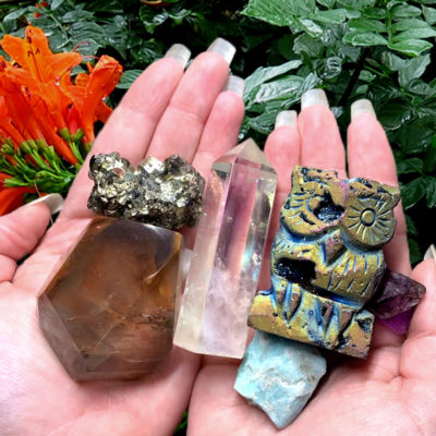 Mineral Specimens and Crystal Points