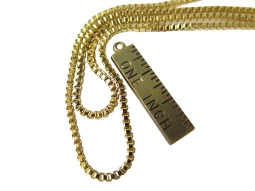 Italian box chain necklaces