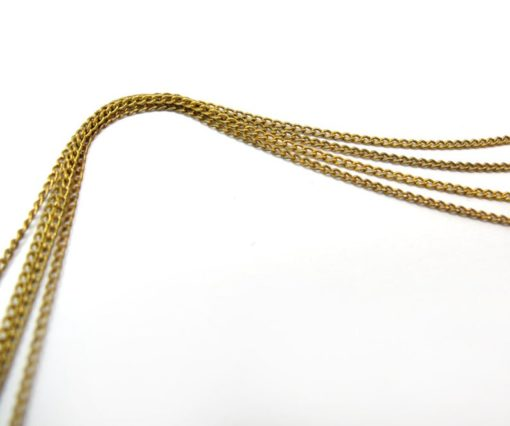 vintage dainty curb chain