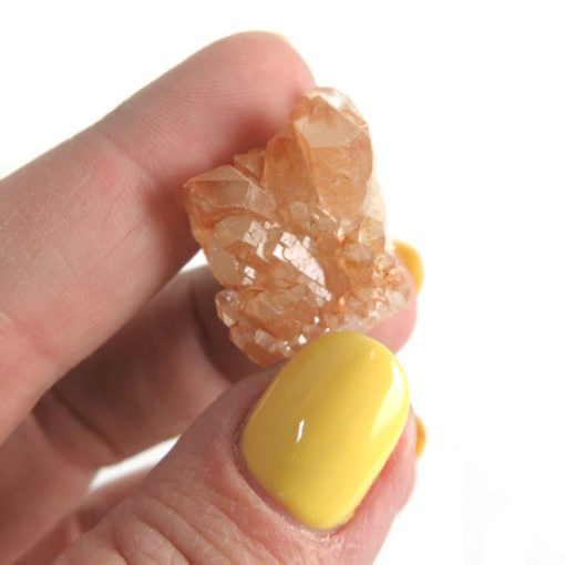 orange coral quartz pieces orange coral quartz pieces