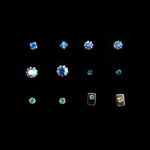 cool crystal rhinestone earrings