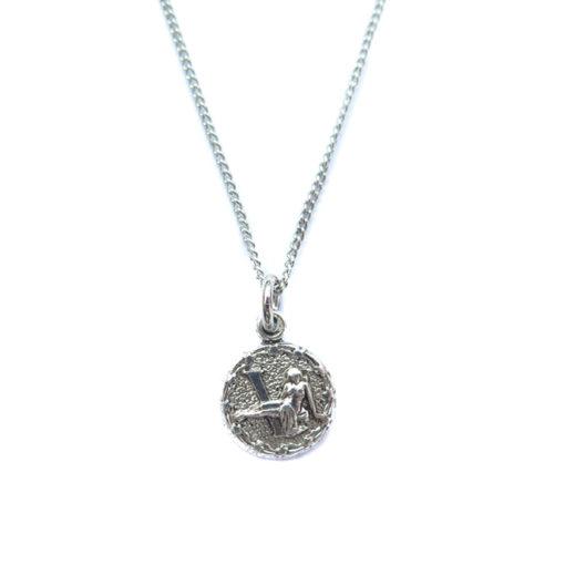 AS tiny zodiac neckace - virgo