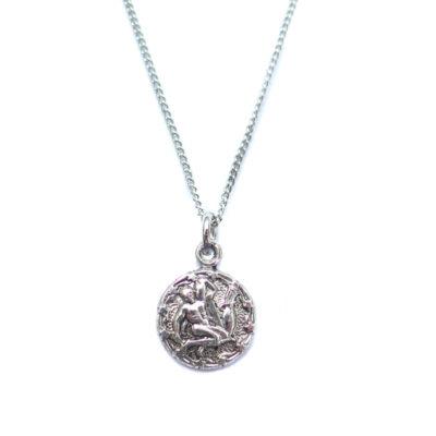 AS tiny zodiac necklace - aquarius