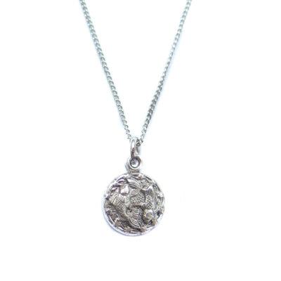 AS tiny zodiac necklace - pisces