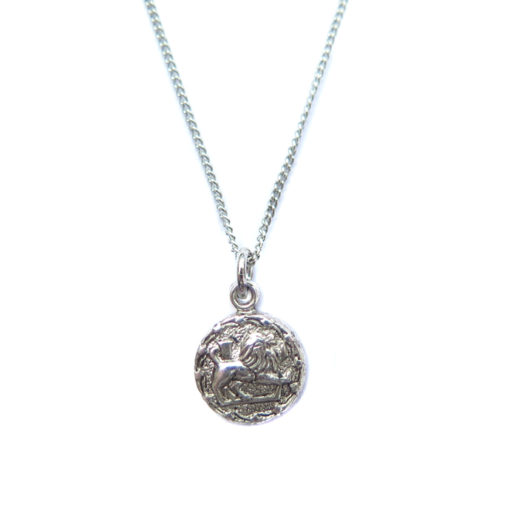 Leo tiny zodiac necklace final