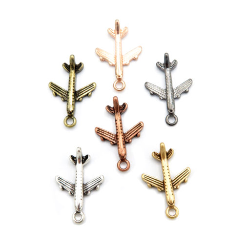 airplane charms - all variations