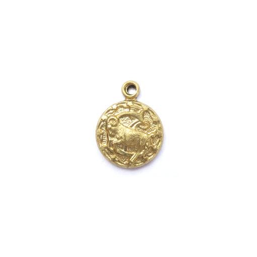 brass tiny zodiac - Capricorn