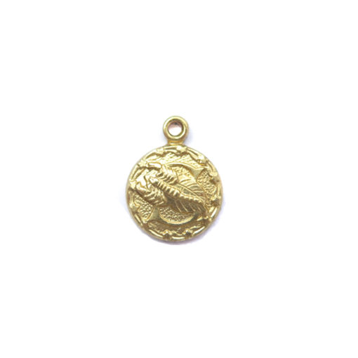 brass tiny zodiac - scorpio