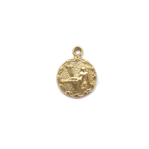 brass tiny zodiac - virgo