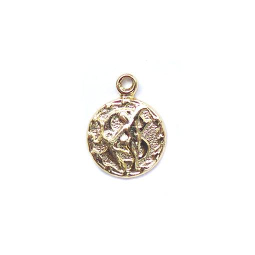 gold tiny zodiac - sagittarius