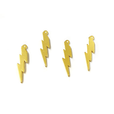 gold plated lightning bolt
