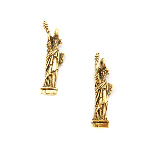 statue of liberty - antiqued gold