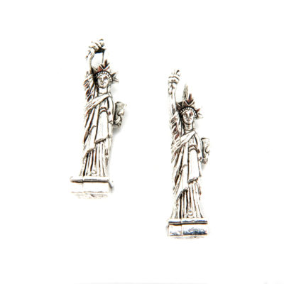 statue of liberty - antiqued silver - 1